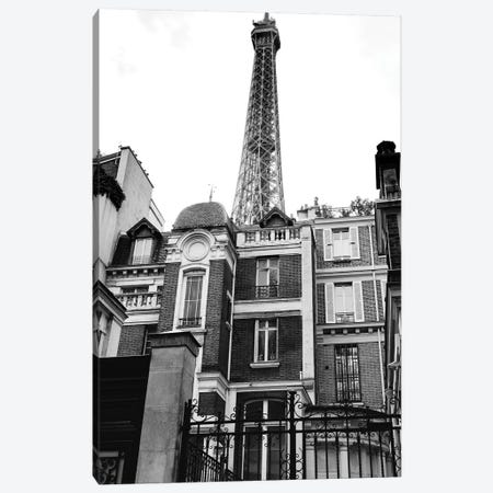 Noir Paris VII Canvas Print #BTY63} by Bethany Young Canvas Artwork