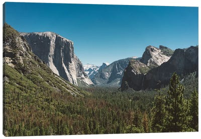 Tunnel View, Yosemite National Park V Canvas Art Print