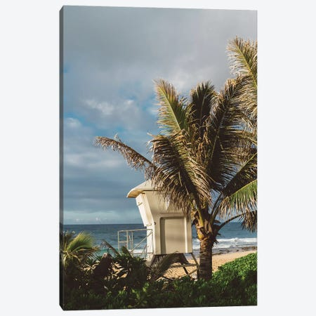 Hawaii Lifeguard Post Canvas Print #BTY696} by Bethany Young Canvas Print