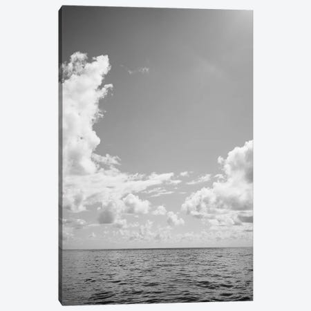 Monochrome Ocean View III Canvas Print #BTY722} by Bethany Young Canvas Artwork