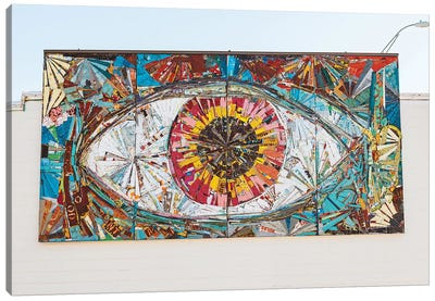 Austin Eye Canvas Art Print