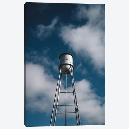 Marfa Water Tower Canvas Print #BTY764} by Bethany Young Art Print