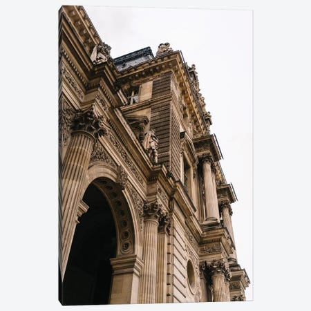 Louvre Canvas Print #BTY783} by Bethany Young Canvas Artwork