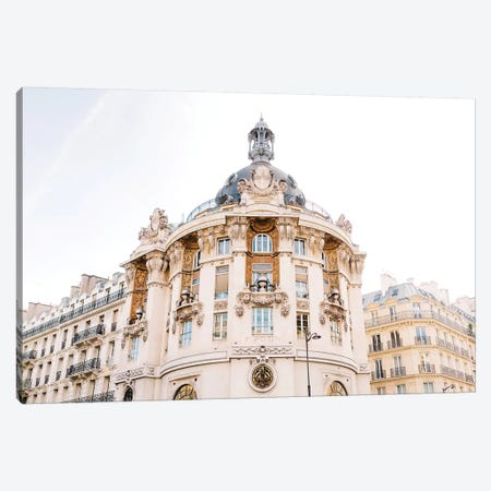 Paris Architecture II Canvas Print #BTY796} by Bethany Young Canvas Wall Art