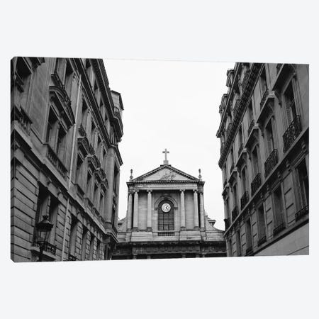 Paris Architecture IX Canvas Print #BTY799} by Bethany Young Art Print