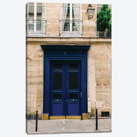 Paris Doors III Canvas Print #BTY807} by Bethany Young Canvas Art