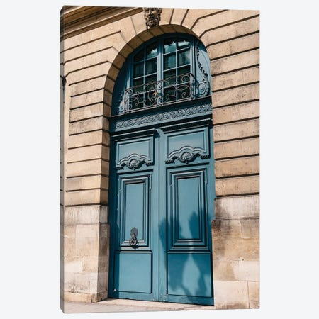 Paris Doors VI Canvas Print #BTY808} by Bethany Young Art Print