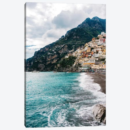 Rainy Positano XII Canvas Print #BTY81} by Bethany Young Canvas Wall Art