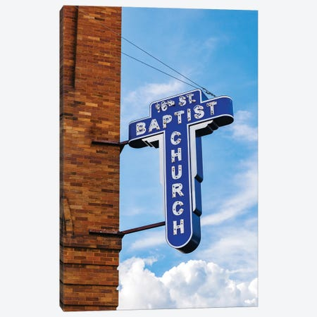 16th Street Baptist Church II Canvas Print #BTY844} by Bethany Young Canvas Wall Art