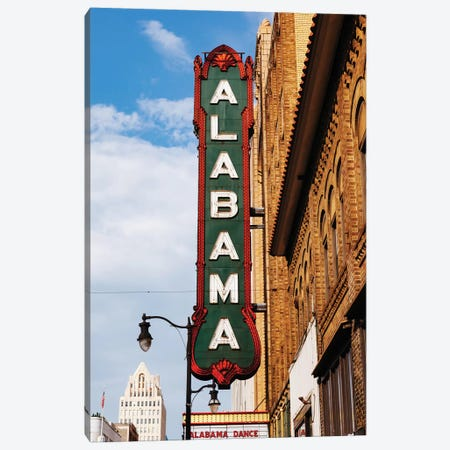 Alabama Marquee II Canvas Print #BTY869} by Bethany Young Art Print