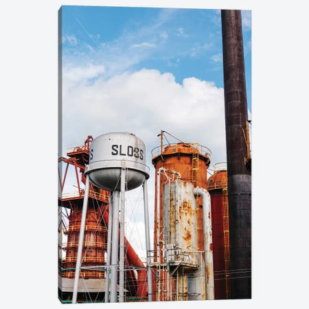 Sloss Furnaces Canvas Print #BTY879} by Bethany Young Canvas Artwork