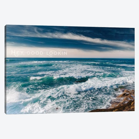 Sunset Cliffs San Diego Canvas Print #BTY87} by Bethany Young Art Print