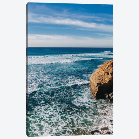 Sunset Cliffs III Canvas Print #BTY887} by Bethany Young Canvas Wall Art