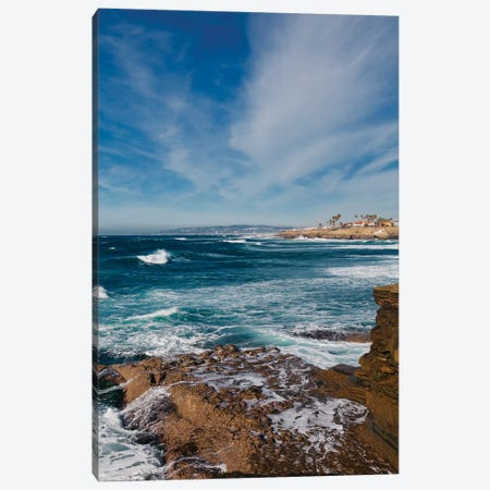 Sunset Cliffs San Diego IV Canvas Print #BTY889} by Bethany Young Canvas Print