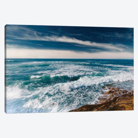 Sunset Cliffs San Diego II Canvas Print #BTY88} by Bethany Young Canvas Wall Art