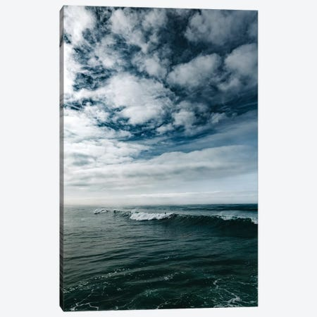 Surfing Ocean Beach San Diego II Canvas Print #BTY89} by Bethany Young Canvas Artwork