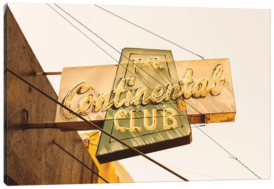 The Continental Club Canvas Art Print