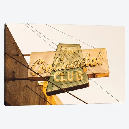 The Continental Club Canvas Print #BTY90} by Bethany Young Canvas Art Print