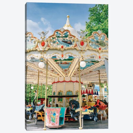 Tuileries Garden III Canvas Print #BTY91} by Bethany Young Art Print