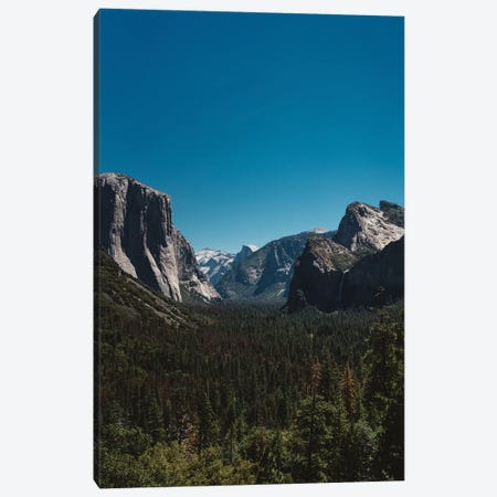 Tunnel View, Yosemite National Park II Canvas Print #BTY92} by Bethany Young Canvas Print