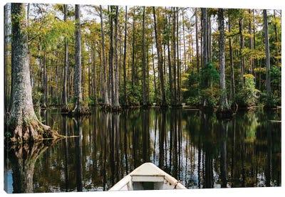 Charleston Cypress Gardens Boat III Canvas Art Print