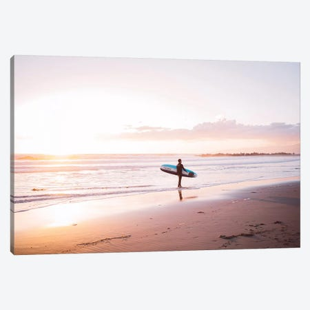 Venice Beach Surfer Canvas Print #BTY94} by Bethany Young Canvas Artwork