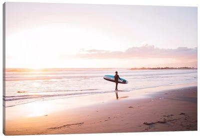 Venice Beach Surfer Canvas Art Print