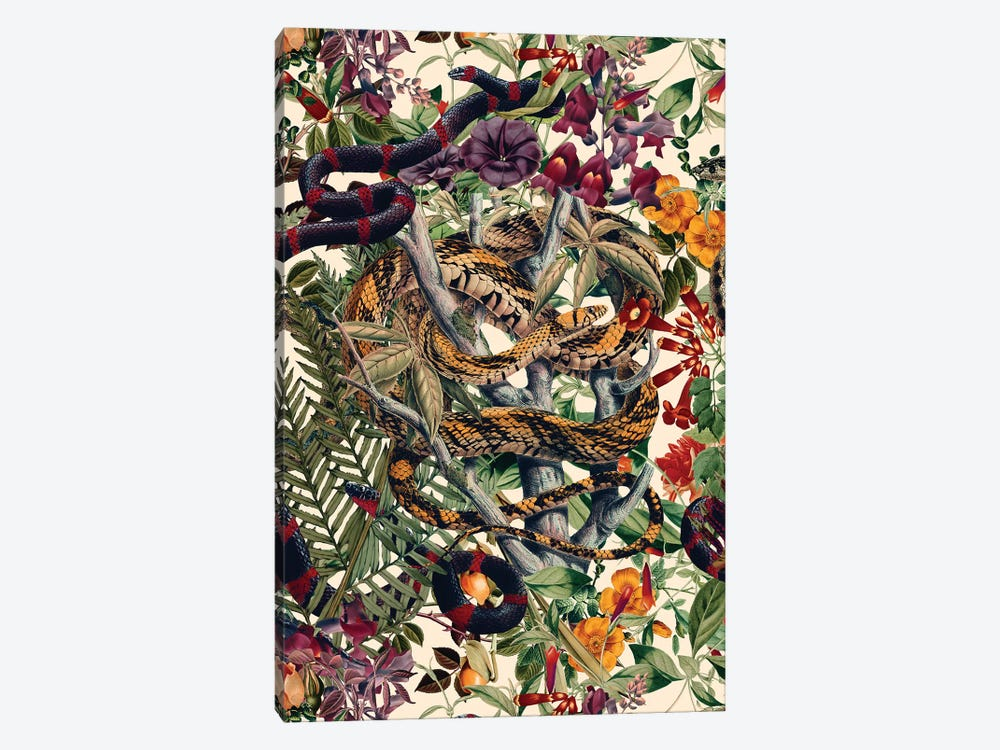 Dangers In The Forest II by Burcu Korkmazyurek 1-piece Canvas Print