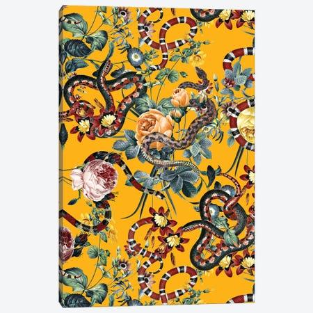 Dangers In The Forest III Canvas Print #BUR103} by Burcu Korkmazyurek Art Print