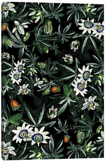 Exotic Garden - Night XI Canvas Art Print