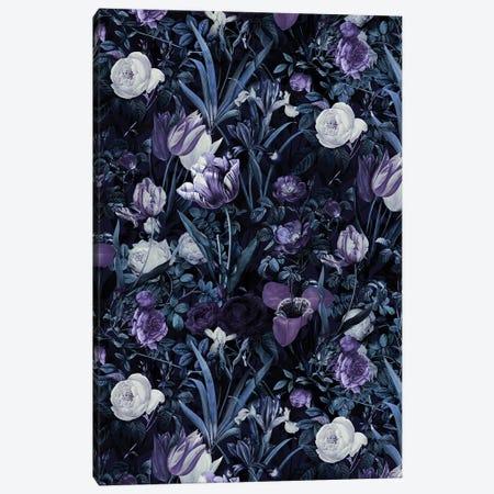Exotic Garden - Night XII Canvas Print #BUR113} by Burcu Korkmazyurek Canvas Artwork
