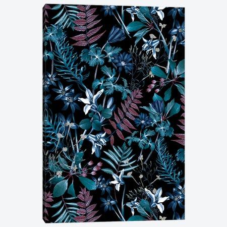 Exotic Garden - Night XIV Canvas Print #BUR115} by Burcu Korkmazyurek Art Print