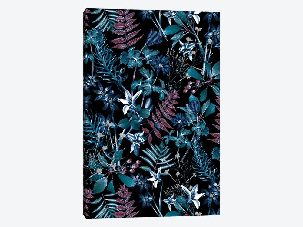 Exotic Garden - Night XIV by Burcu Korkmazyurek 1-piece Canvas Art Print