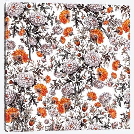 Exotic Garden - Night XVII Canvas Print #BUR119} by Burcu Korkmazyurek Canvas Wall Art