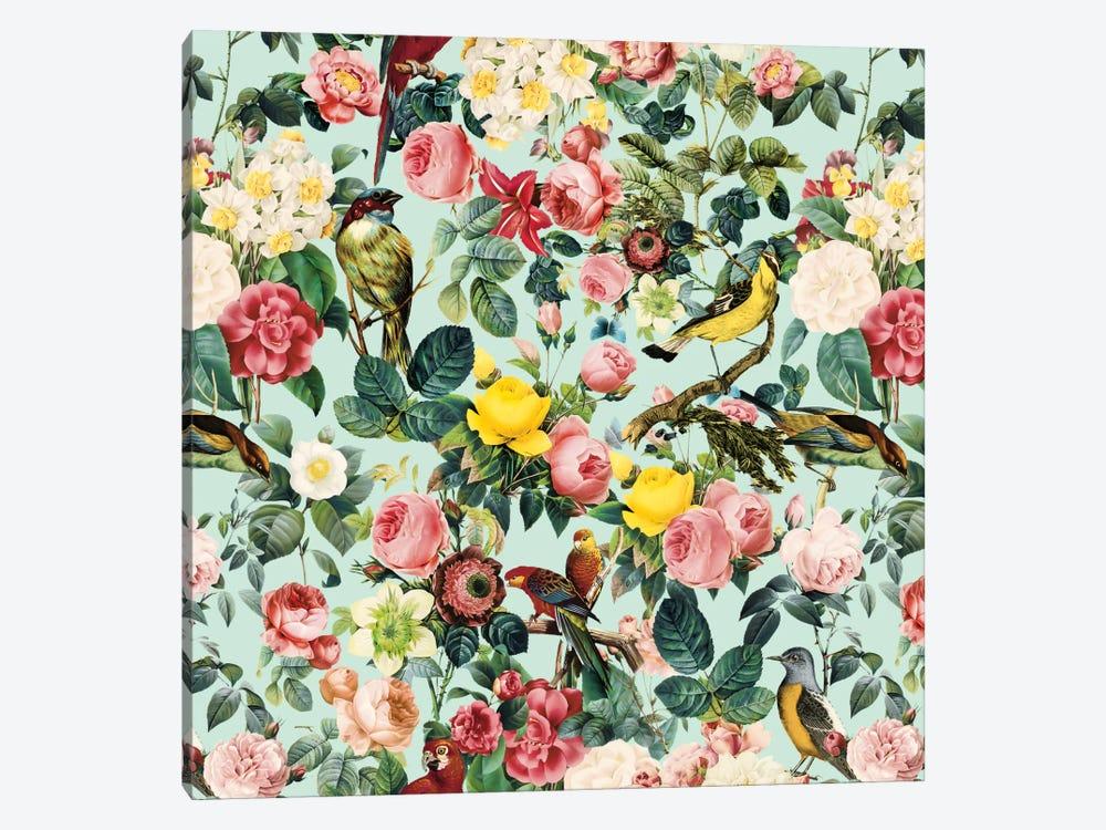 Floral And Bird III by Burcu Korkmazyurek 1-piece Canvas Wall Art