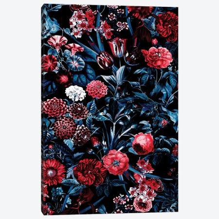 Exotic Garden - Night XX Canvas Print #BUR121} by Burcu Korkmazyurek Art Print