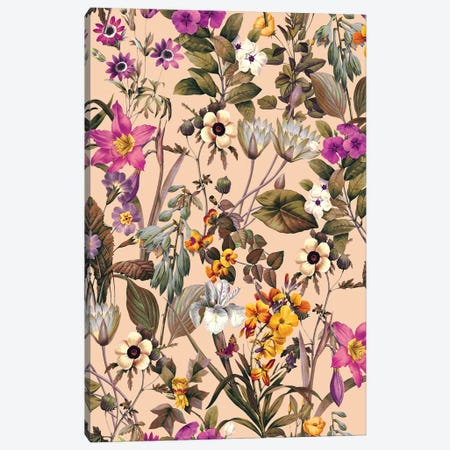 Exotic Garden XVIII Canvas Print #BUR123} by Burcu Korkmazyurek Canvas Art Print