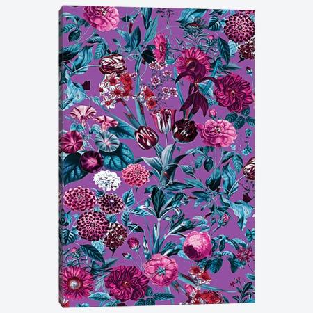 Romantic Floral Pattern Canvas Print #BUR155} by Burcu Korkmazyurek Canvas Art Print