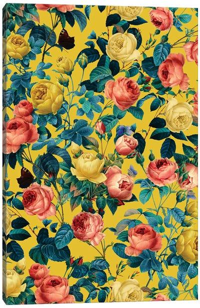 Summer Botanical Garden X Canvas Art Print