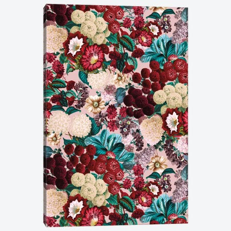 Summer Botanical Garden XII Canvas Print #BUR164} by Burcu Korkmazyurek Canvas Wall Art