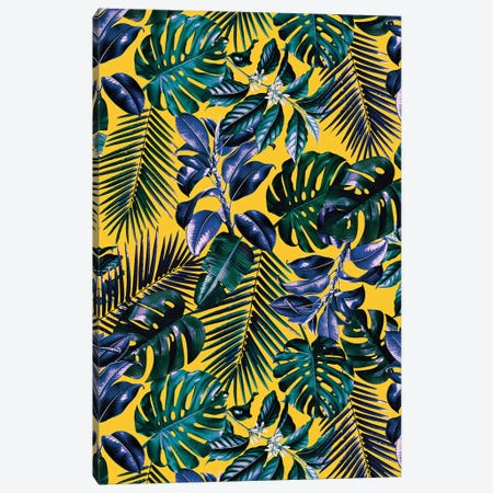 Tropical Garden XIII Canvas Print #BUR166} by Burcu Korkmazyurek Canvas Art