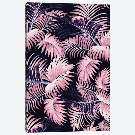 Tropical Jungle - Night Canvas Print #BUR167} by Burcu Korkmazyurek Canvas Artwork