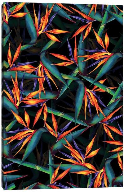 Tropical Leaf Pattern Canvas Art Print