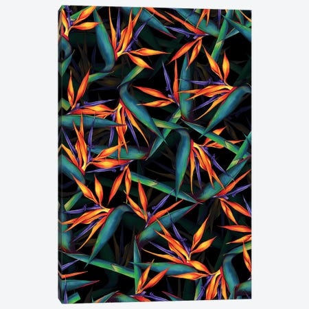 Tropical Leaf Pattern Canvas Print #BUR168} by Burcu Korkmazyurek Canvas Art Print
