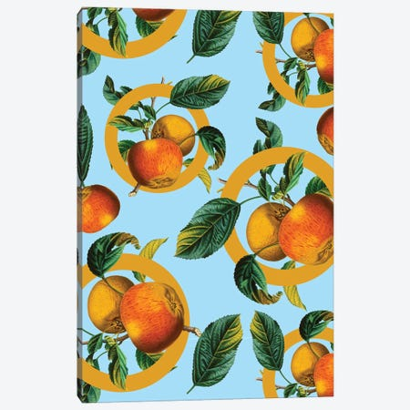 Vintage Fruit Pattern II Canvas Print #BUR169} by Burcu Korkmazyurek Canvas Print