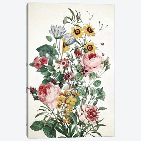 Big Flower Canvas Print #BUR173} by Burcu Korkmazyurek Canvas Wall Art