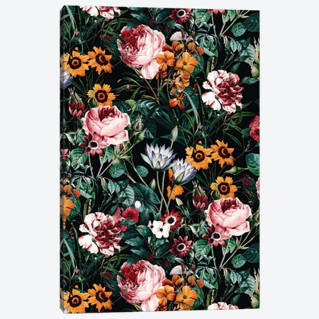 Big Flower IV Canvas Print #BUR174} by Burcu Korkmazyurek Canvas Art Print