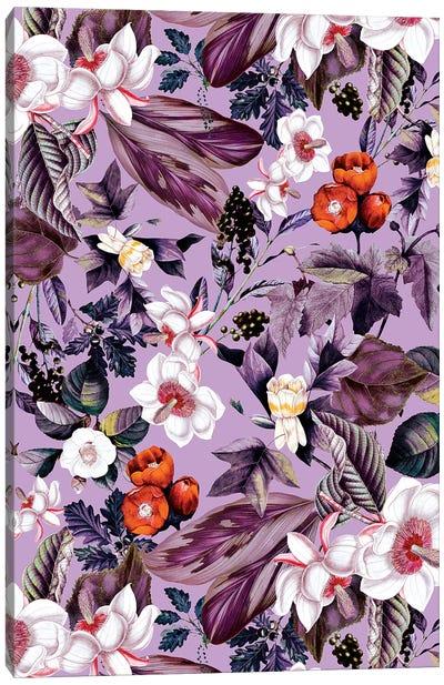 Crocus Petal Canvas Art Print