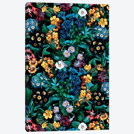 Exotic Garden Canvas Print #BUR179} by Burcu Korkmazyurek Canvas Artwork