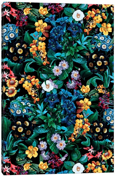 Exotic Garden Canvas Art Print